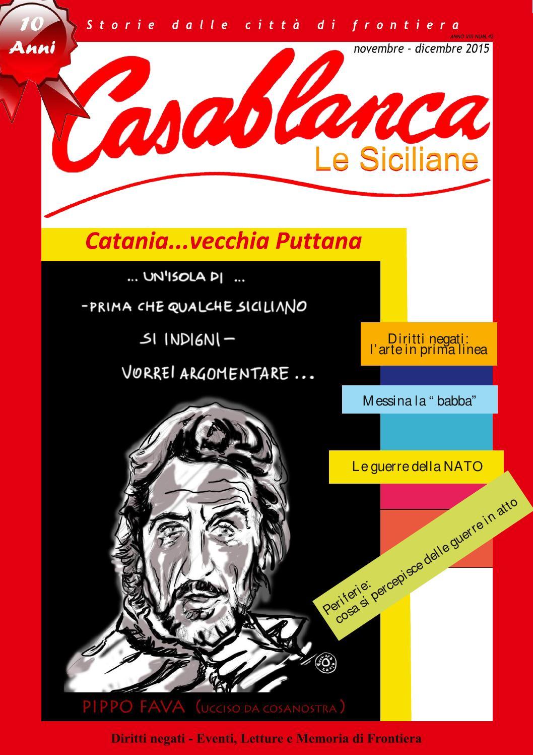 Raccolta Ferro Vecchio Catania casablanca n.42 - cataniavecchia puttana by casablanca