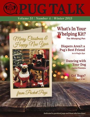 Pug Talk - Winter 2015 by Pug Talk - issuu