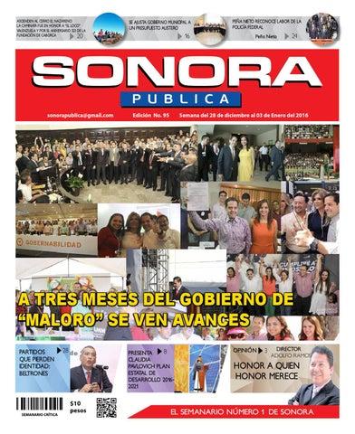76ff0fd995 Sonora 95 by Semanario Critica - issuu