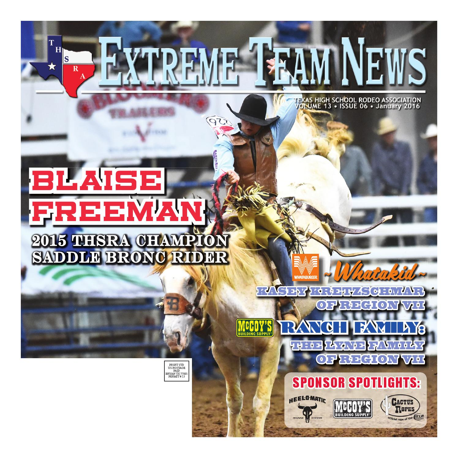 January 2016 Extreme Team News Official News Of Texas