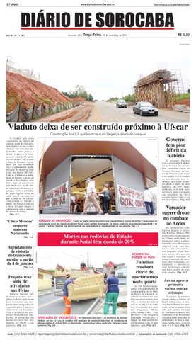 Edição de 29 de dezembro de 2015 by DIÁRIO DE SOROCABA - issuu c47eb2be22165