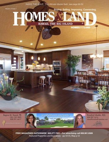 INSIDE THIS ISSUE: The Ultimate Master Bath, See Page 68 69 Volume: 27  Issue: 1. HAWAII ...