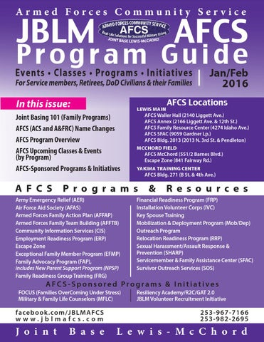 Jblm afcs program guide janfeb 2016 by jblm armed forces page 1 sciox Image collections