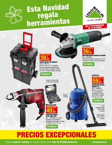 Leroymerlin folleto 27diciembre 11enero2015 by CatalogoPromociones ... 485ab2612a8c