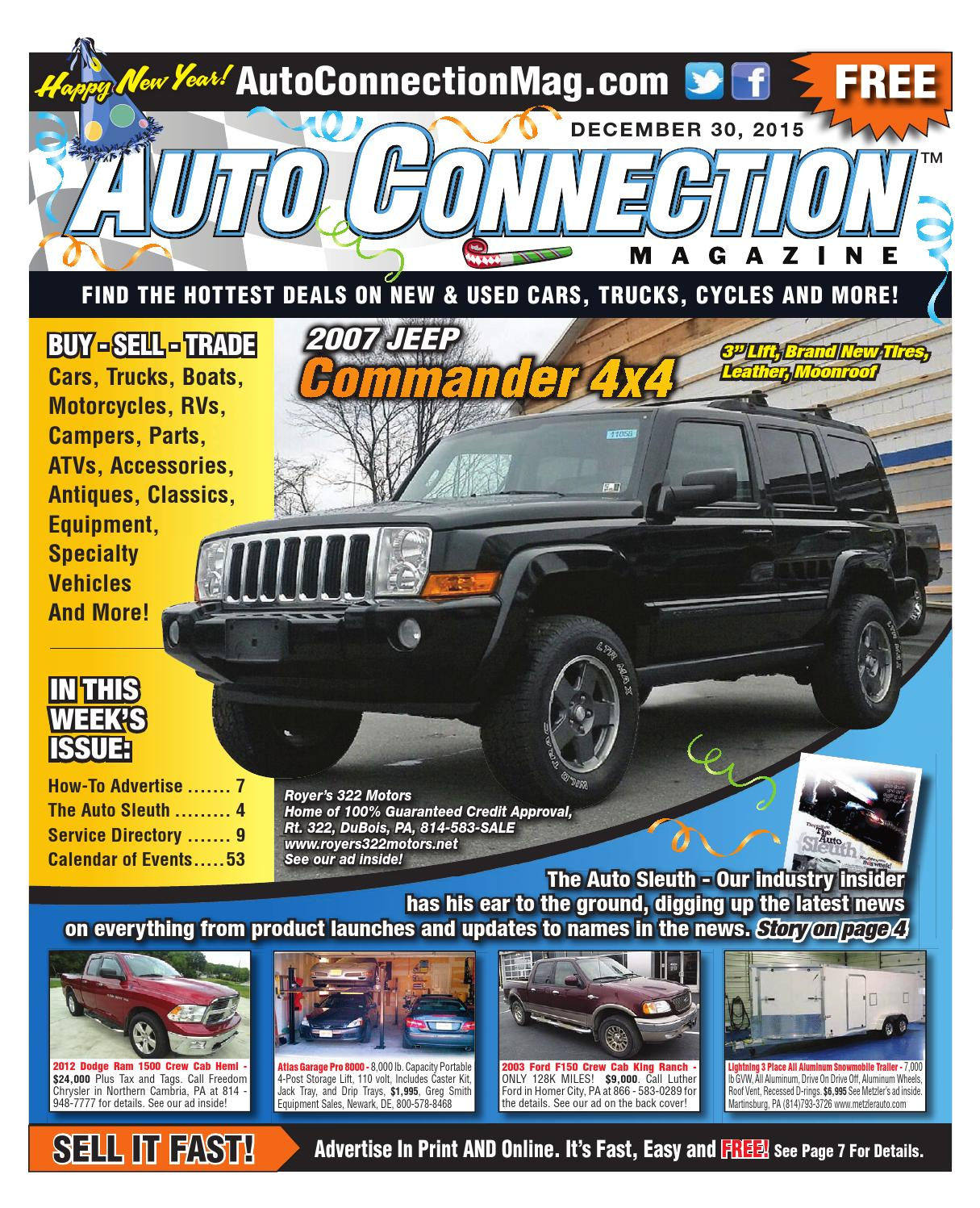 12 30 15 Auto Connection Magazine By Issuu 2012 Dodge Ram 1500 Parts