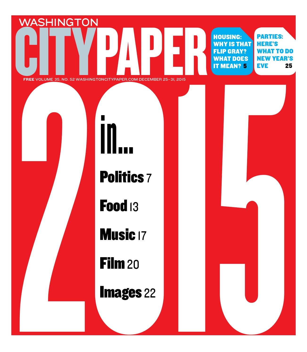 washington city paper The washington city paper is a us alternative weekly newspaper serving the washington, dc, metropolitan area it was started in 1981 by russ smith and alan hirsch, the owners of the baltimore city paper.