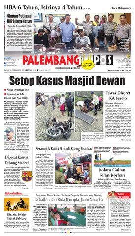PALEMBANG POS EDISI RABU 30 DESEMBER 2015 by Palembang Pos - issuu c686b5e5be
