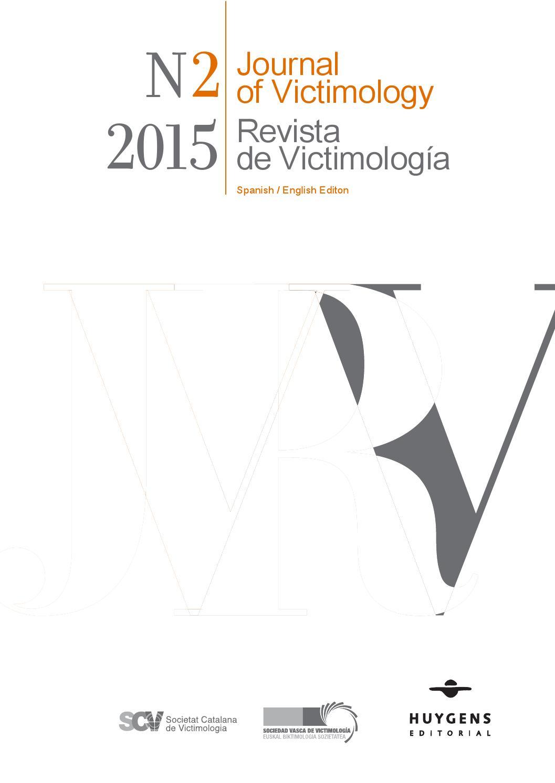 Revista de Victimología / Journal of Victimology 02 2015 by Huygens ...