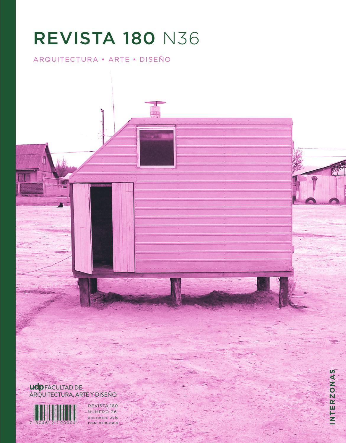 Revista180 N36 by Ediciones Escuela de diseno UDP - issuu