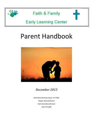 Children, Youth & Teen Programs Parent Handbook by MCCS Iwakuni ...