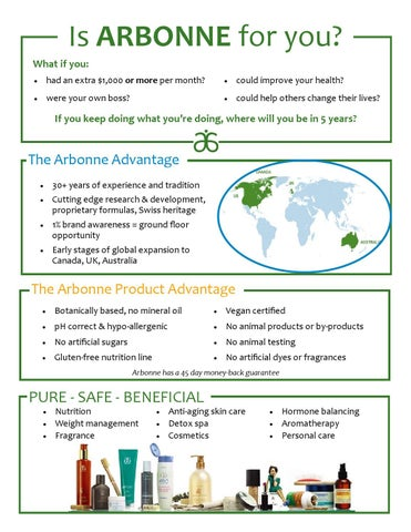 Curious About Arbonne? by Melissa Kanaly - issuu