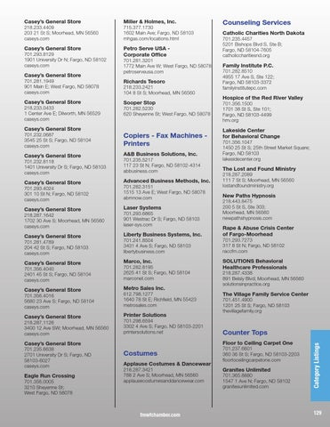 2016 Metro Profile And Member Directory By The Fmwf Chamber Of