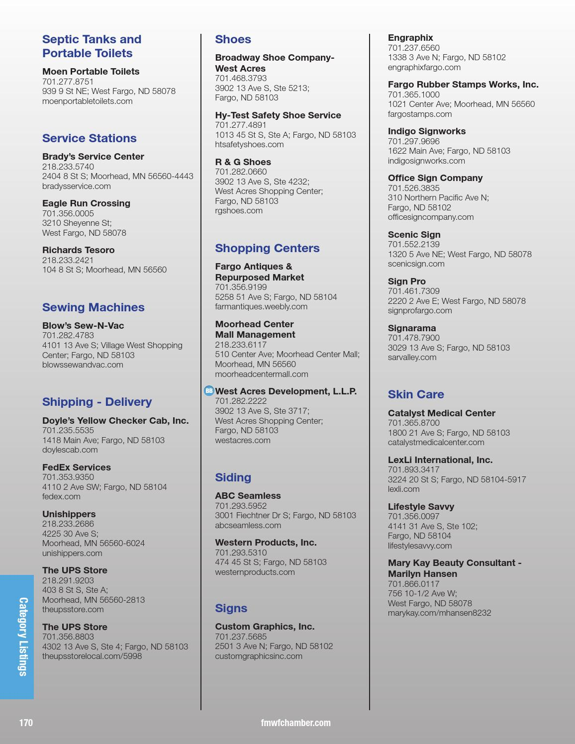 2016 Metro Profile And Member Directory By The FMWF Chamber Of Commerce