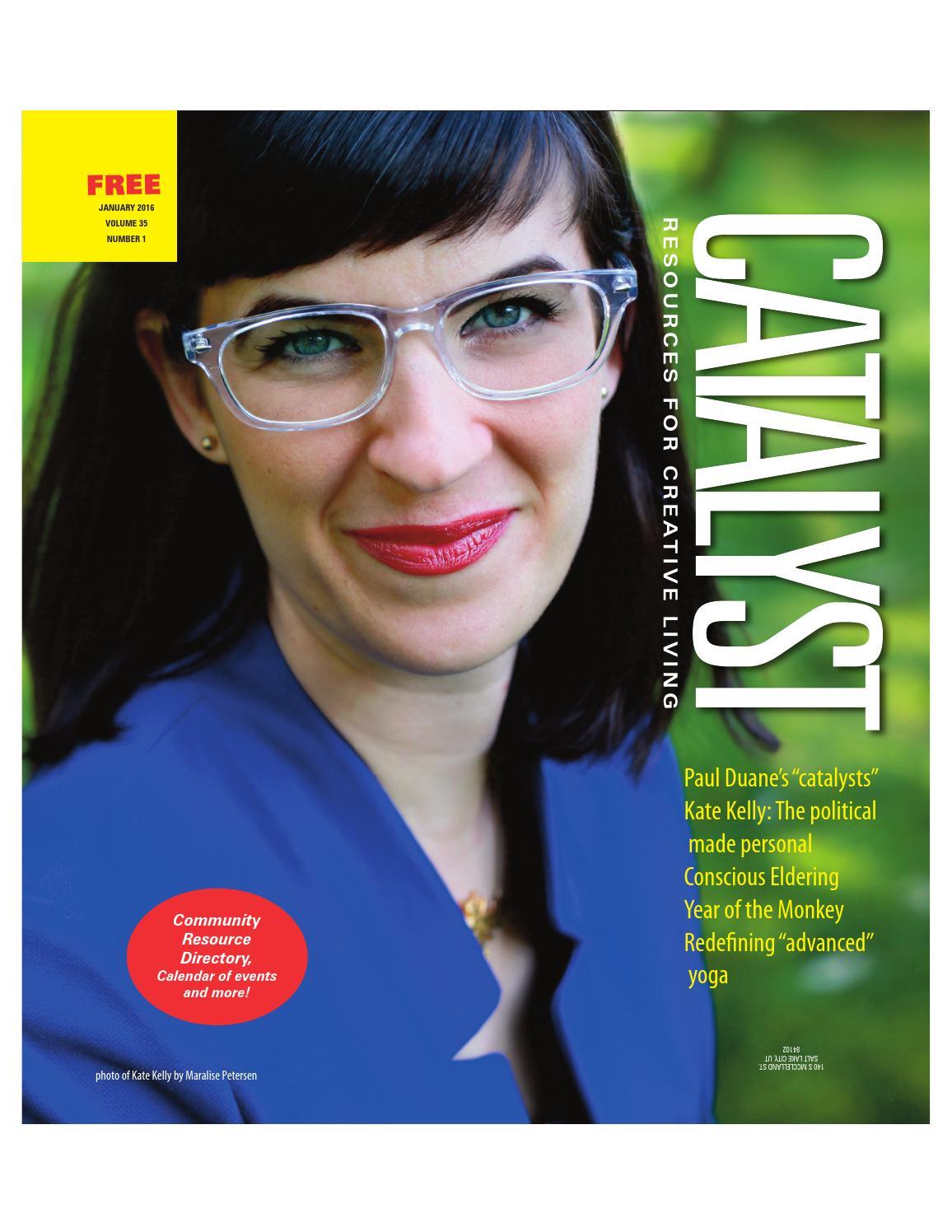 CATALYST Magazine January 2016 by CATALYST Magazine - Issuu
