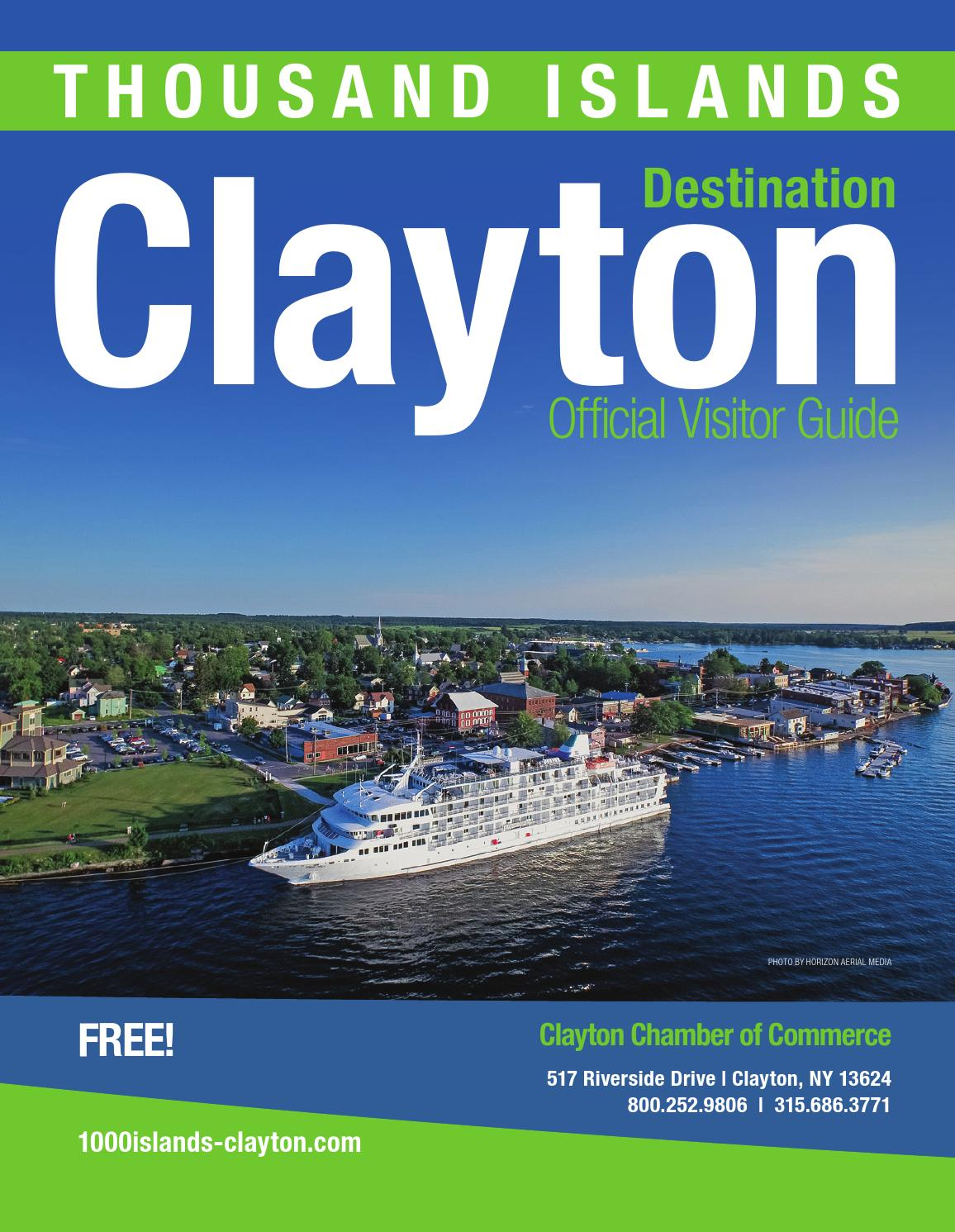 Thousand Islands - Clayton, New York located in Upstate NY by ...