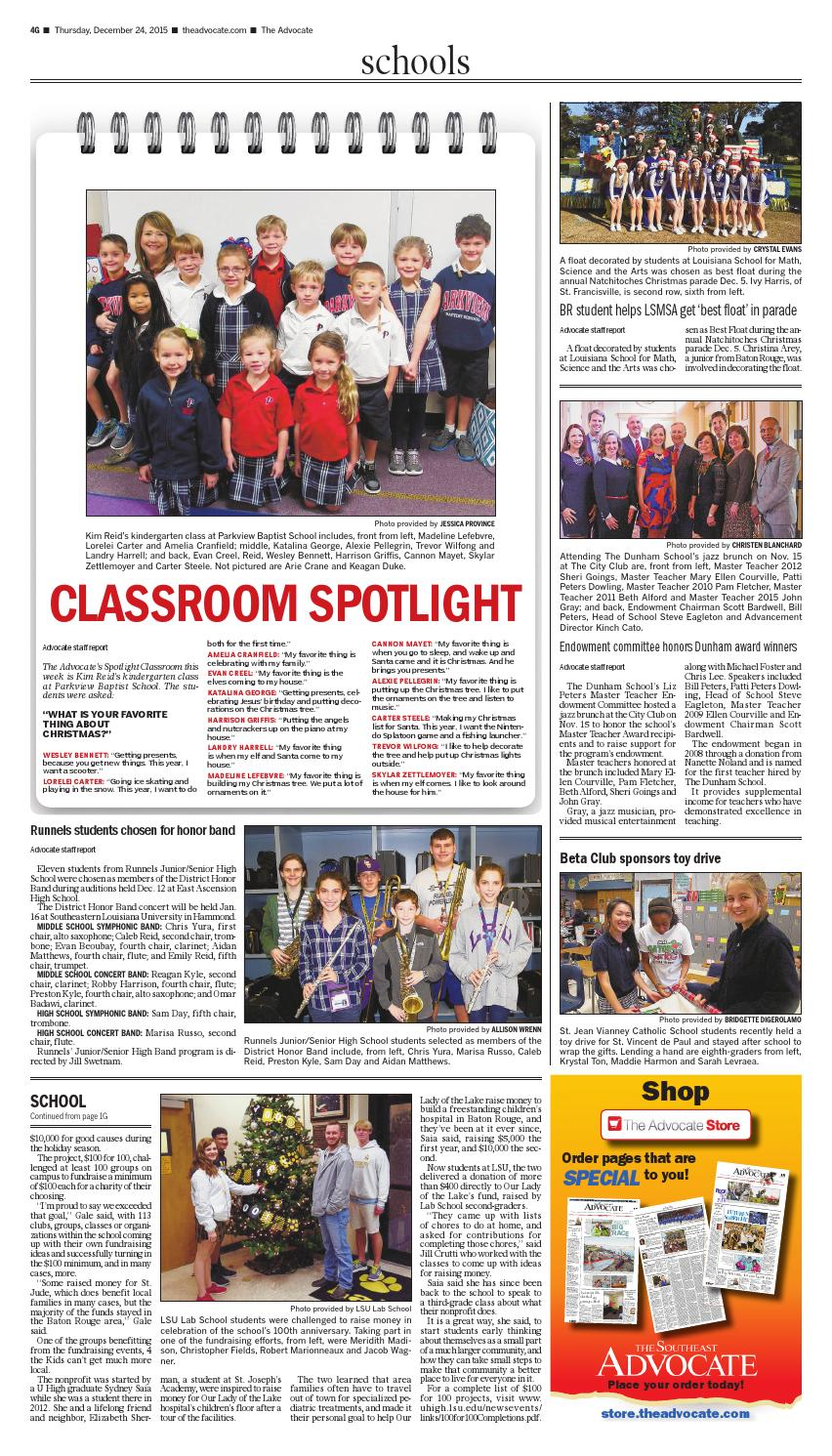 The Southeast Advocate 12-24-2015 by The Advocate - issuu