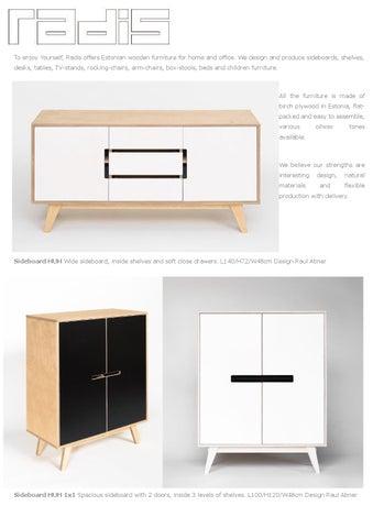 Radis Furniture Catalogue 2016 By Radis Issuu