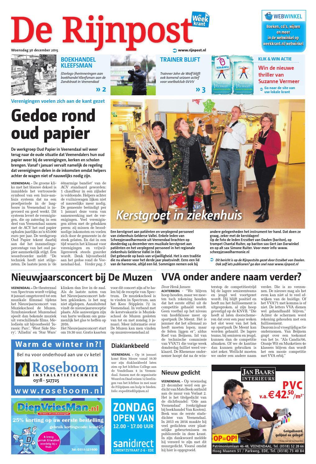 de rijnpost week53 by wegener issuu