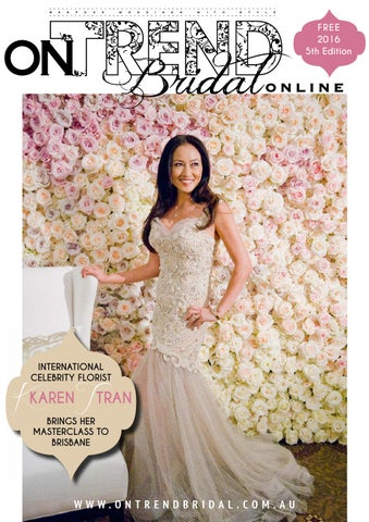 OnTrendBridalOnline 1jan2016 by Paddington Publications Pty Ltd - issuu