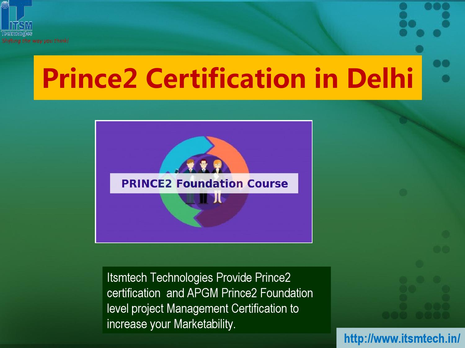 Prince2 certification in delhi by itsmtech issuu xflitez Images