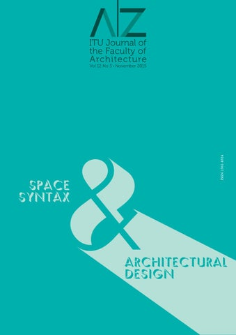 977ffcc23 A|Z ITU Journal of Faculty of Architecture 2015-3 by LookUs ...