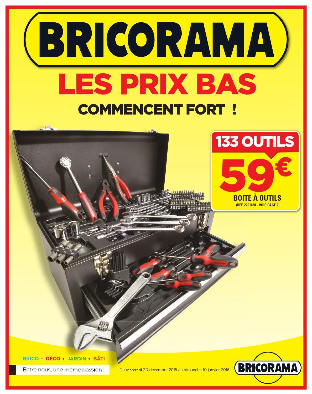Bricorama Catalogue 30decembre 10janvier2016 By Promocatalogues Com Issuu