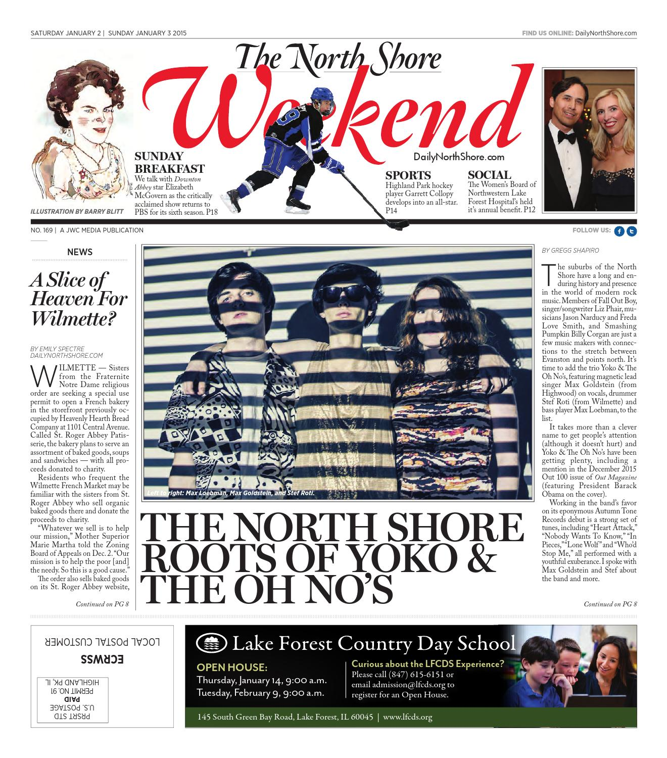 The North Shore Weekend East, Issue 169 by JWC Media - issuu