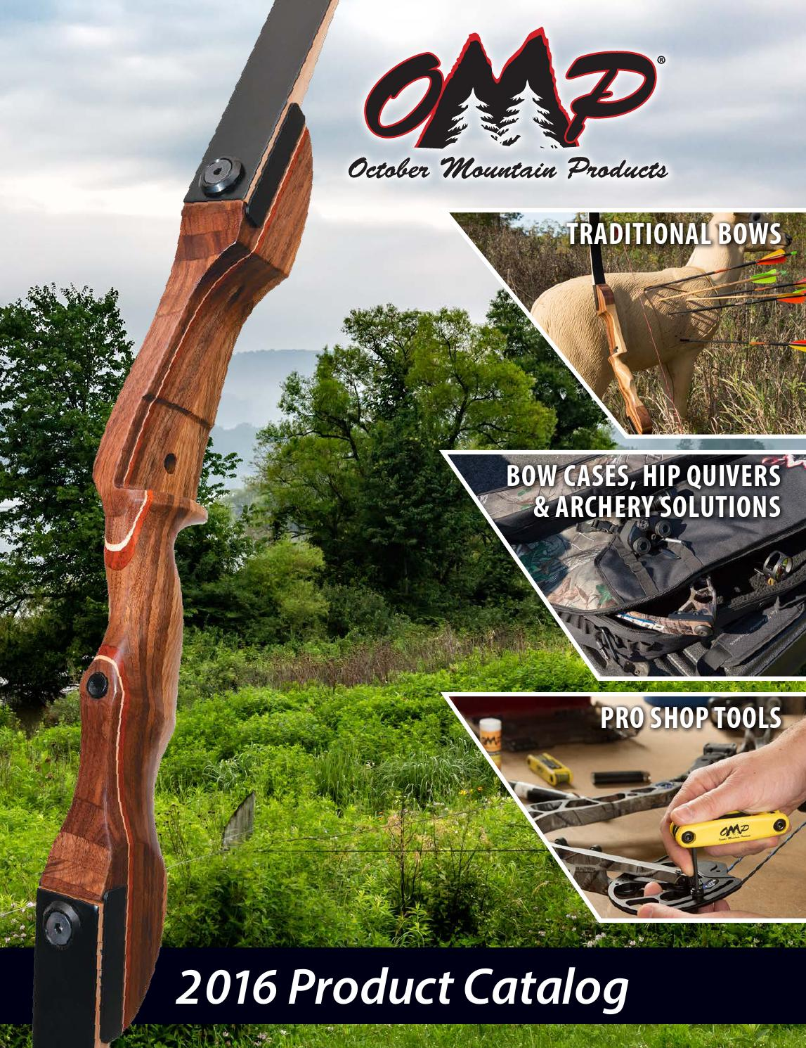 OCTOBER MOUNTAIN CROSSBOW CABLES 22 IN PARKER CENTERFIRE