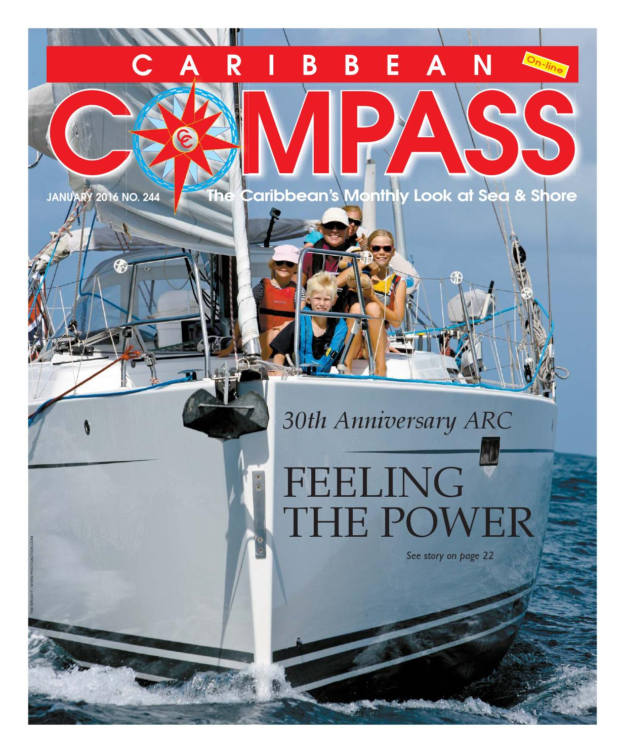 Caribbean Compass Yachting Magazine January 2016 By Purpose Electric Motor 1 3 Hp Model 10000600 Motors Publishing Issuu