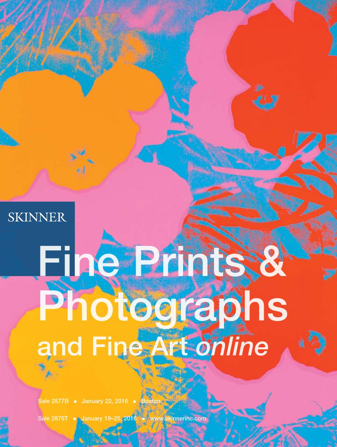 Fine Prints & Photographs | Skinner Auction 2877B by Skinner
