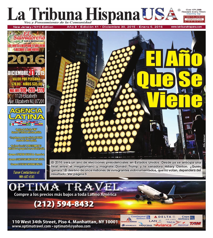 New Jersey / NYC, Ed. 41 Año 8 by La Tribuna Hispana - issuu