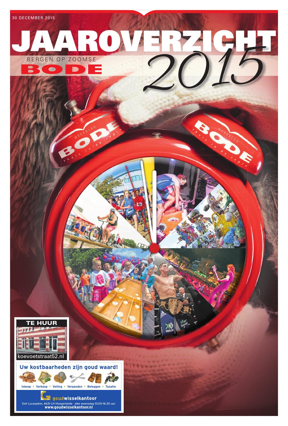 b5c2ef9a4c3f9b Bergen op Zoomse Bode 30-12-2015 by Uitgeverij de Bode - issuu