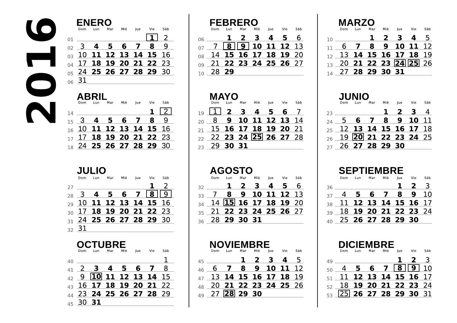 Calendario 2016 Argentina.Calendario 2016 Argentina By Dafeba Issuu