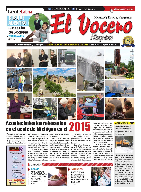 El Vocero Hispano 30 de Diciembre de 2015 by El Vocero Hispano - issuu