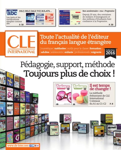 Catalogue cle international 2016 by cle international issuu page 1 fandeluxe Image collections
