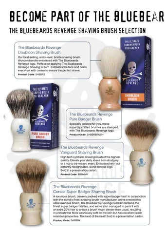 The Bluebeards Revenge The Ultimate Badger Shaving Brush 1 Piece Men Health & Beauty Health & Beauty