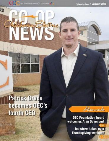 Oklahoma Electric Co Op News January 2016 By Oklahoma