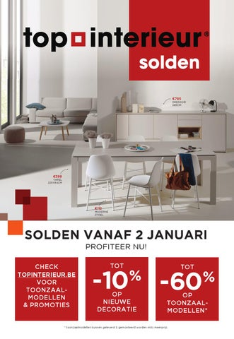 Soldenfolder Top Interieur Januari 2016 by Topinterieur - issuu