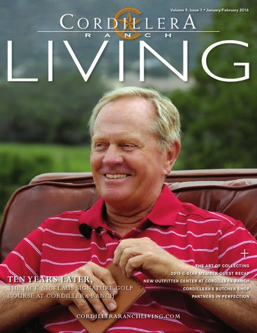 cordillera ranch living januaryfebruary 2016 by