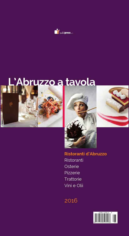 03c6196a8780 Abruzzo a Tavola 2016 by Publipress srl - issuu