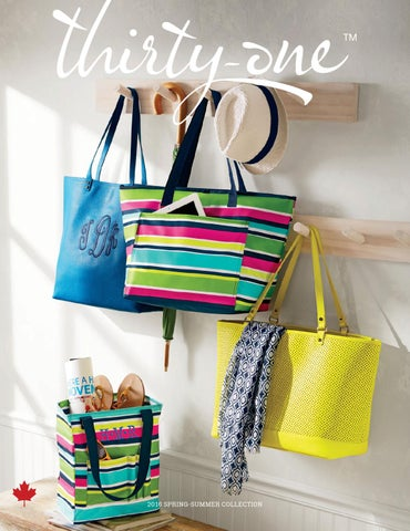 Thirty One Catalogue Spring 2016 By LornaPasinato
