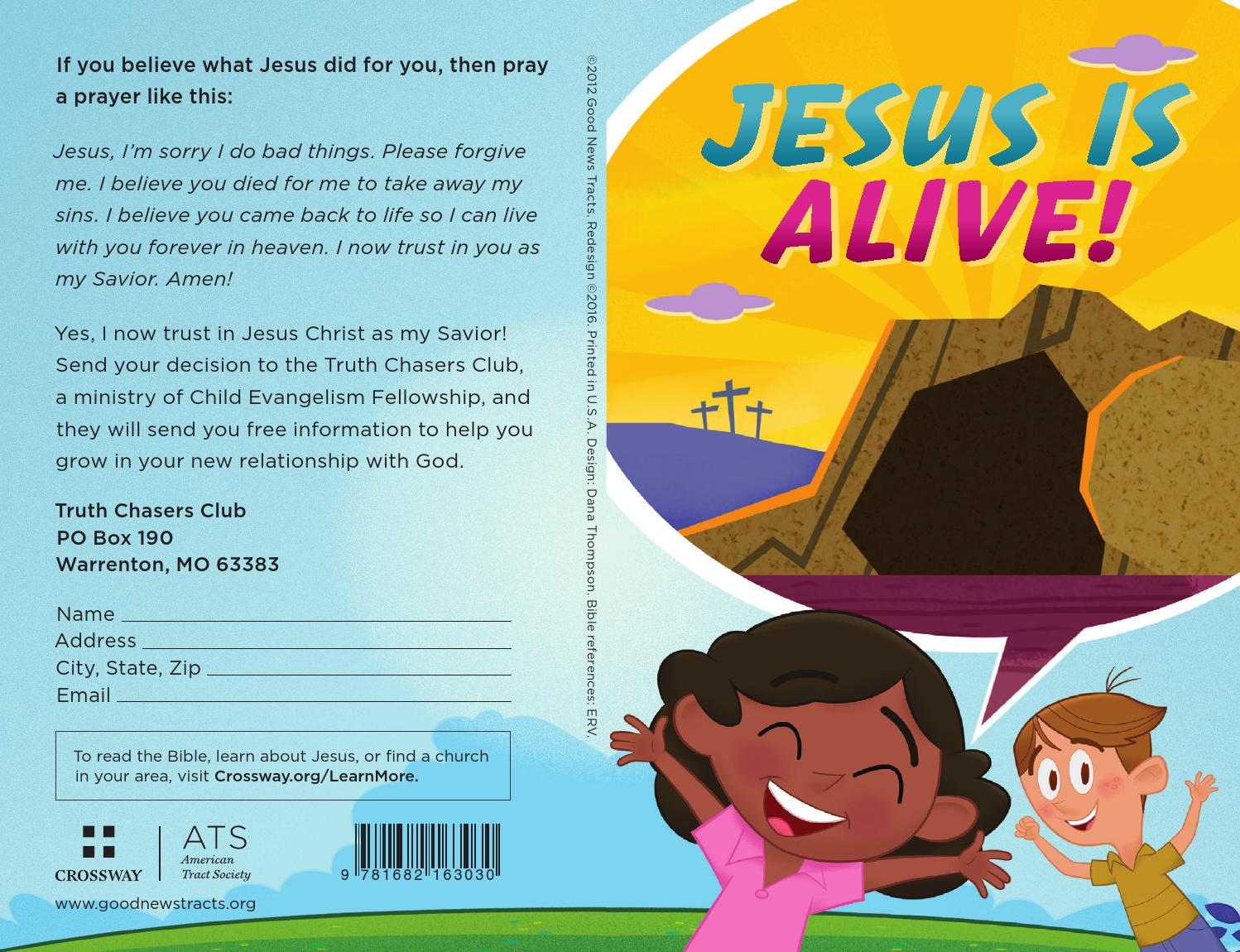 Jesus Is Alive! Happy Easter by Crossway - issuu