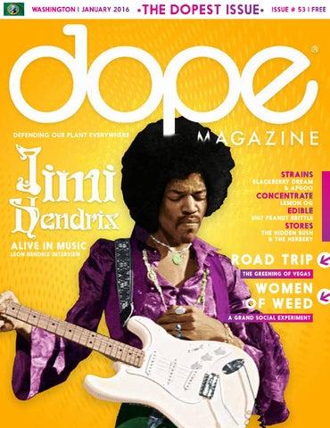 Dope Magazine Washington January 2016 53 The Dopest Issue By Dope