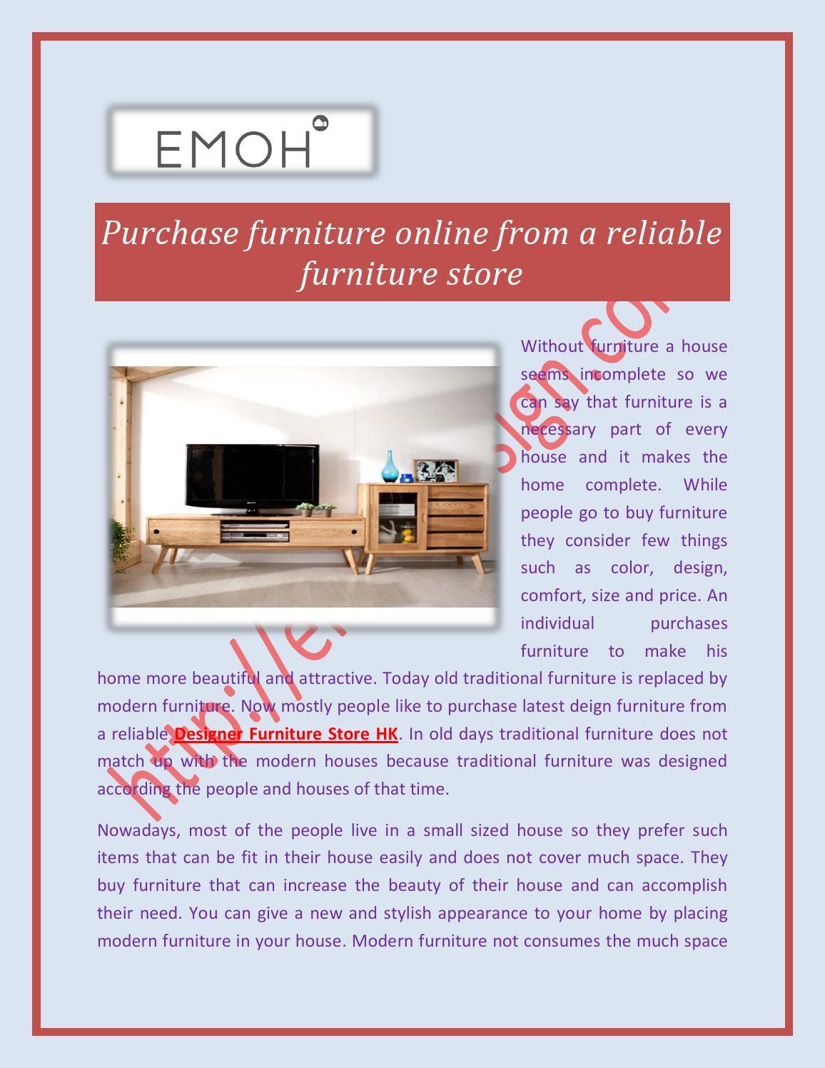 Designer furniture store hk