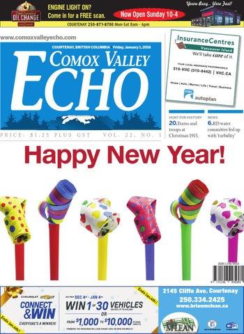 Comox Valley Echo January 01 2016 By Black Press Issuu