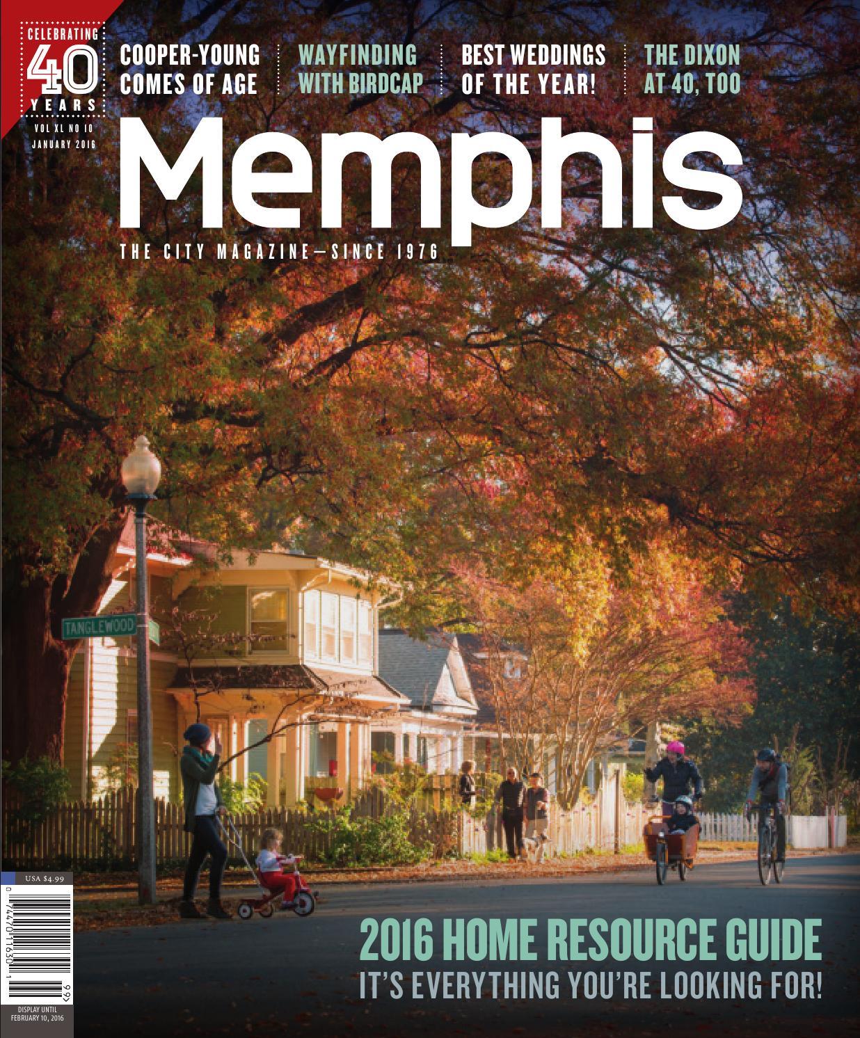Memphis magazine, January 2016 by Contemporary Media - issuu