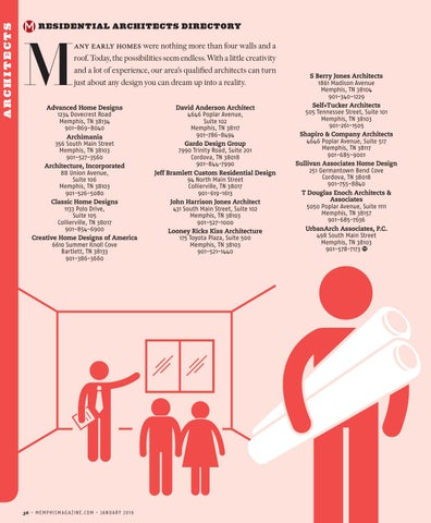 Memphis Magazine January 2016 By Contemporary Media Issuu