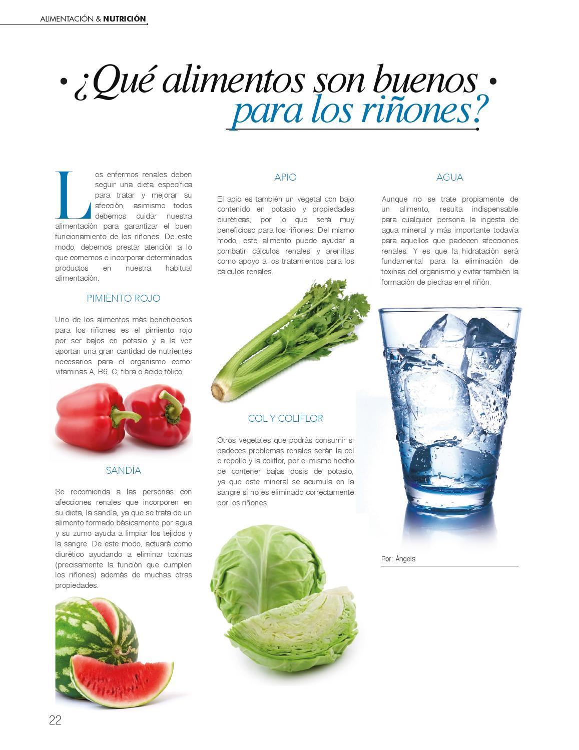 Alimentos para problemas renales