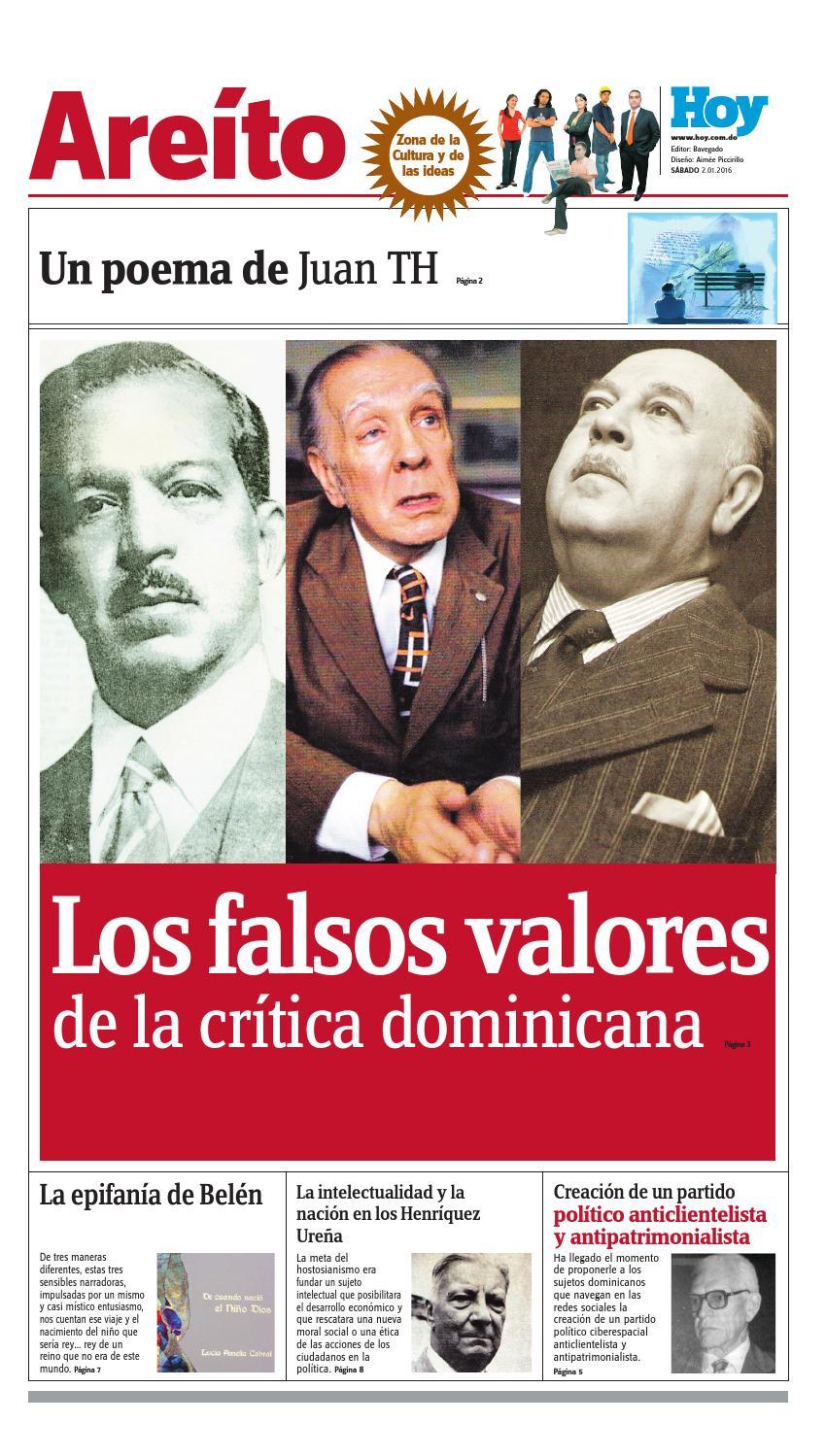 Are to s bado 02 de enero del 2016 by periodico hoy issuu - Fundar un partido politico ...
