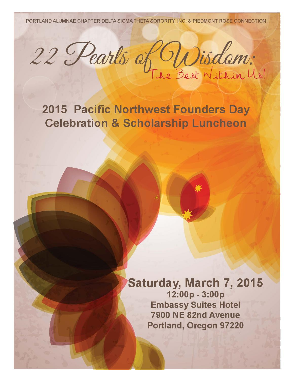 2015 pacific nw founders day luncheon by loribydesygn issuu buycottarizona Choice Image